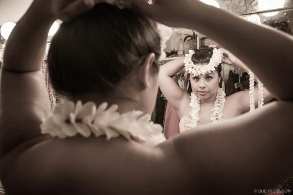 Luau dancer, Brazlee Dutro Perez